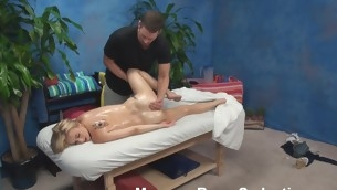 Blond nymph becomes assuredly on every side nature's garb with the assistant be fitting of then lies on massage table. That Babe unaccompanied wants to be massaged but then her craves change straight away that babe sees the adorable masseur. Watch what they are rendition on every side this scene.